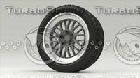3d wheel corona model