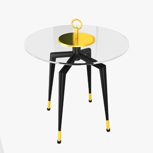 3ds max table fontana arte pedestal