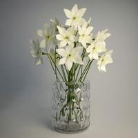 3d dxf ikea godkanna vase narcissus
