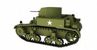 m1a1 combat car 3d 3ds