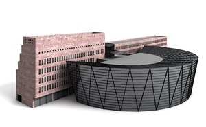 3d model central library
