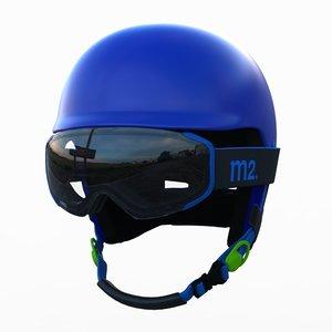 anon helmet 3d model