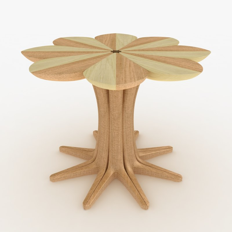 3d model realistic love table