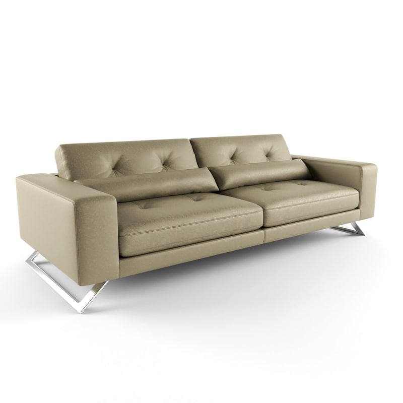 roche bobois sofa 3d model. Black Bedroom Furniture Sets. Home Design Ideas
