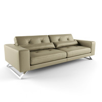 roche bobois sofa 3d model