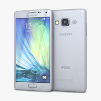 Samsung Galaxy A5 and A5 Duos Silver