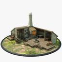 blacksmith shop 3D models