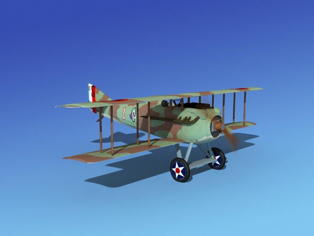 max spad vii s fighter aircraft