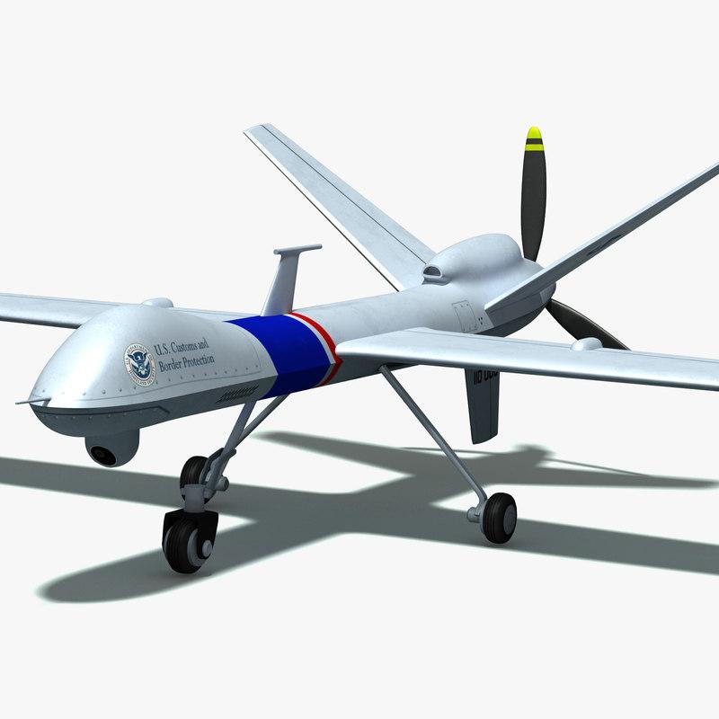 3d remotely uav drone