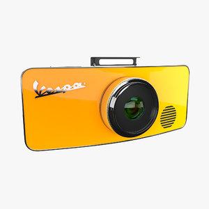 vespa camera 3d model