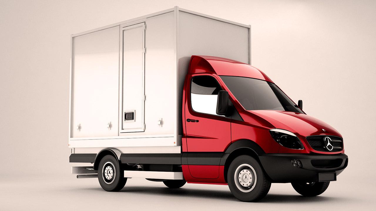 mercedes sprinter fridge box max