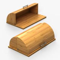 Bamboo Bread Box