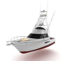 52` sport fishing boat