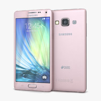 Samsung Galaxy A5 and A5 Duos Soft Pink