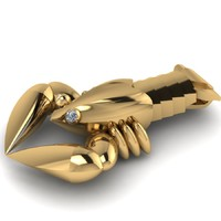 3d gold model