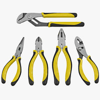 Plier Set 5 piece