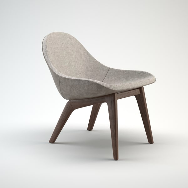 zeitraum moebel morph-pouf chair 3d max