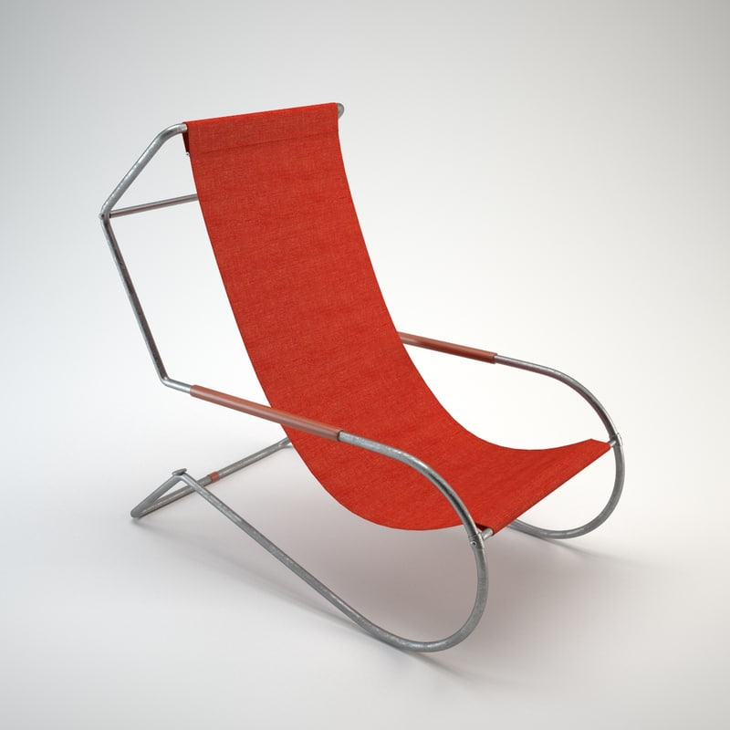lido lounge chair 3d max