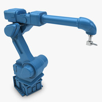 industrial painting robot 3d 3ds