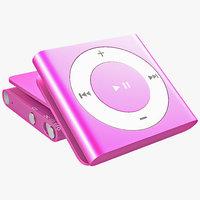 iPod Shuffle Pink 3D Model