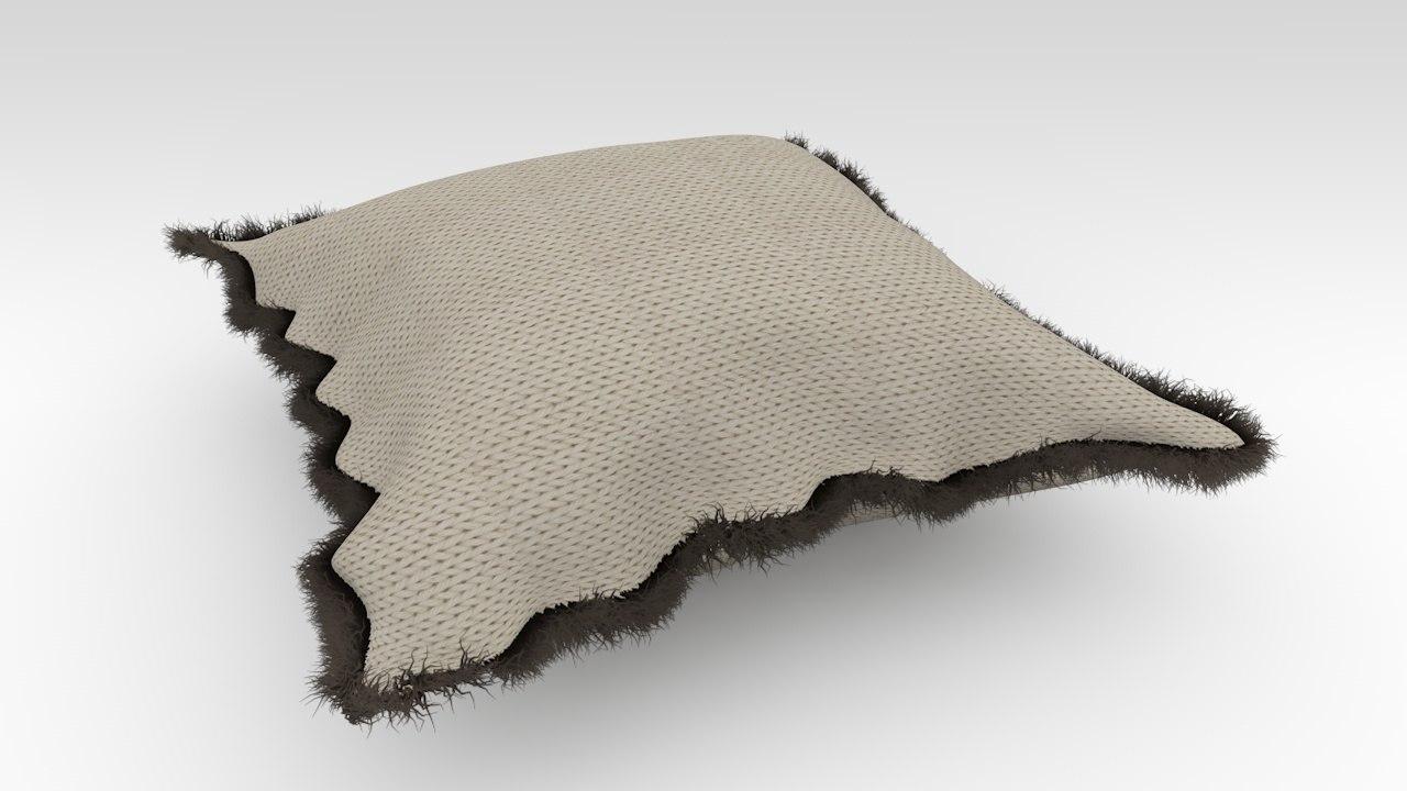 simple pillow c4d