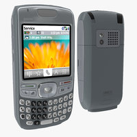 palm treo 680 modeled 3d model