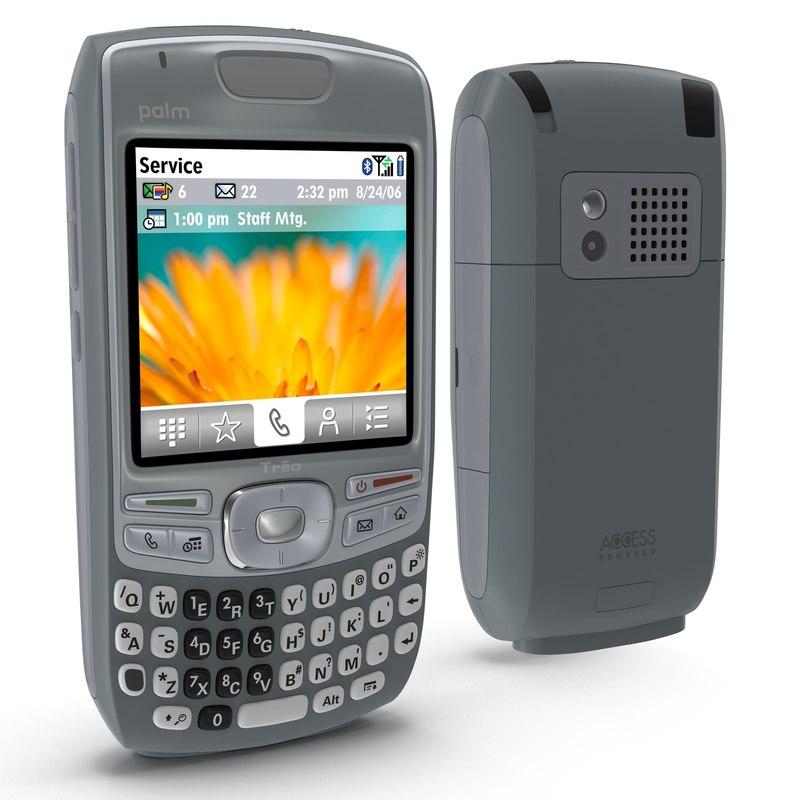 palm treo 680 modeled 3d model