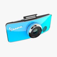 vespa camera concept 3d model