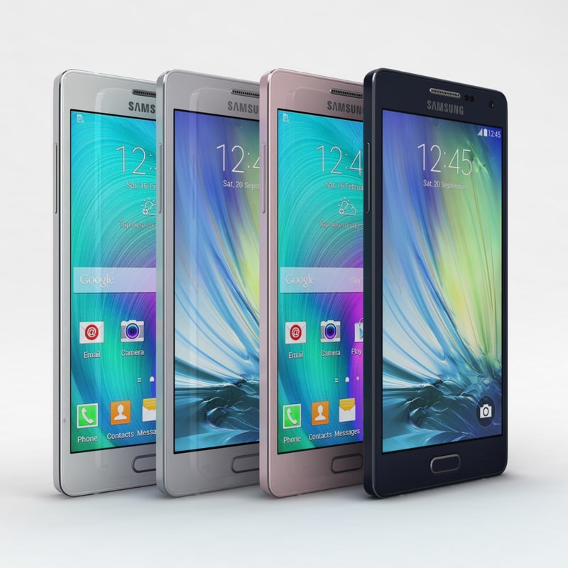 3d model of samsung galaxy a5 duos