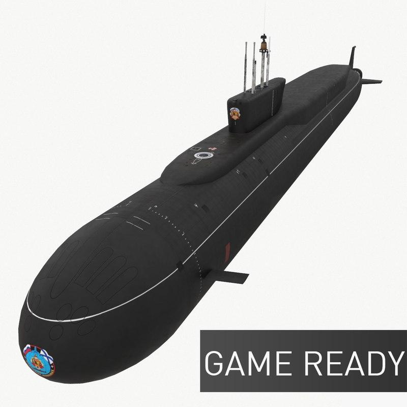 3d model ready k-551 vladimir monomakh