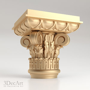 max decorative capitals