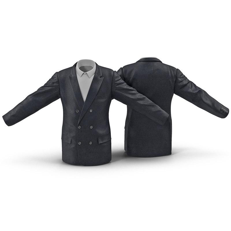 mens suit jacket 5 3d max