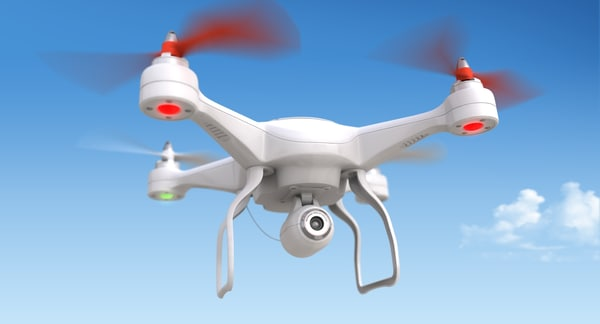 generic quadrocopter camera obj