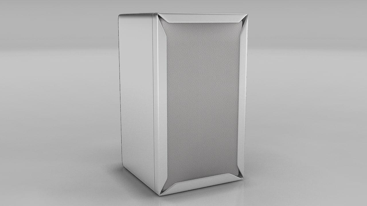 3d model of napkin holder