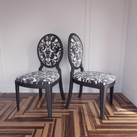 glamour 1195 chair tonin 3ds
