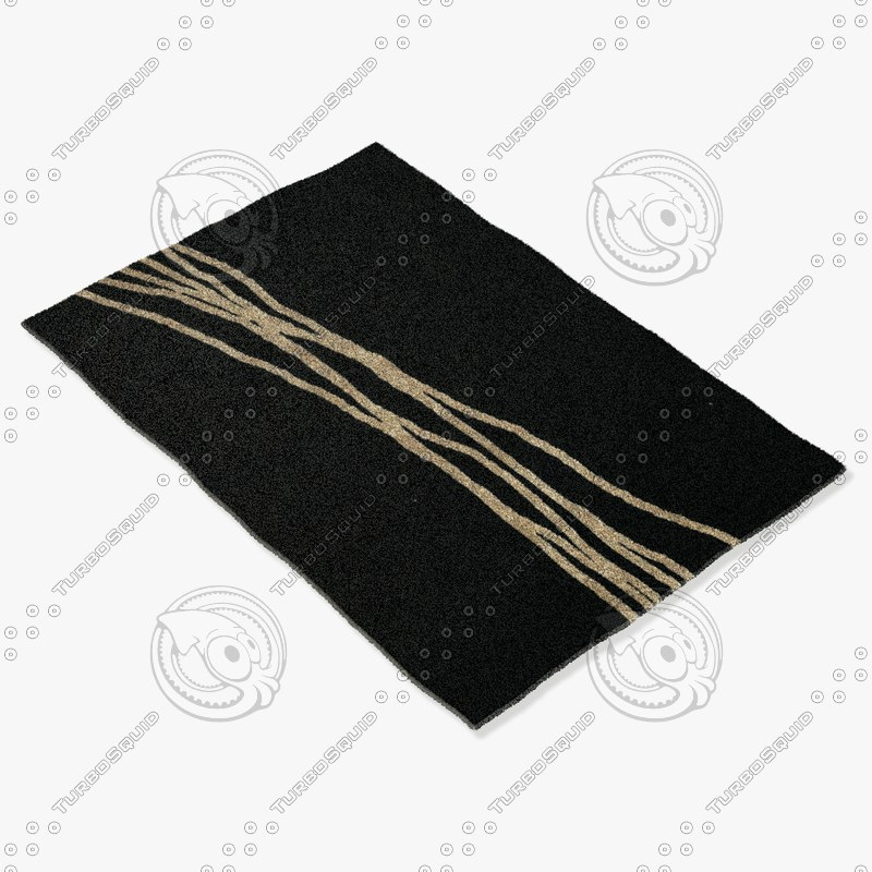 3d model sartory rugs nc-124