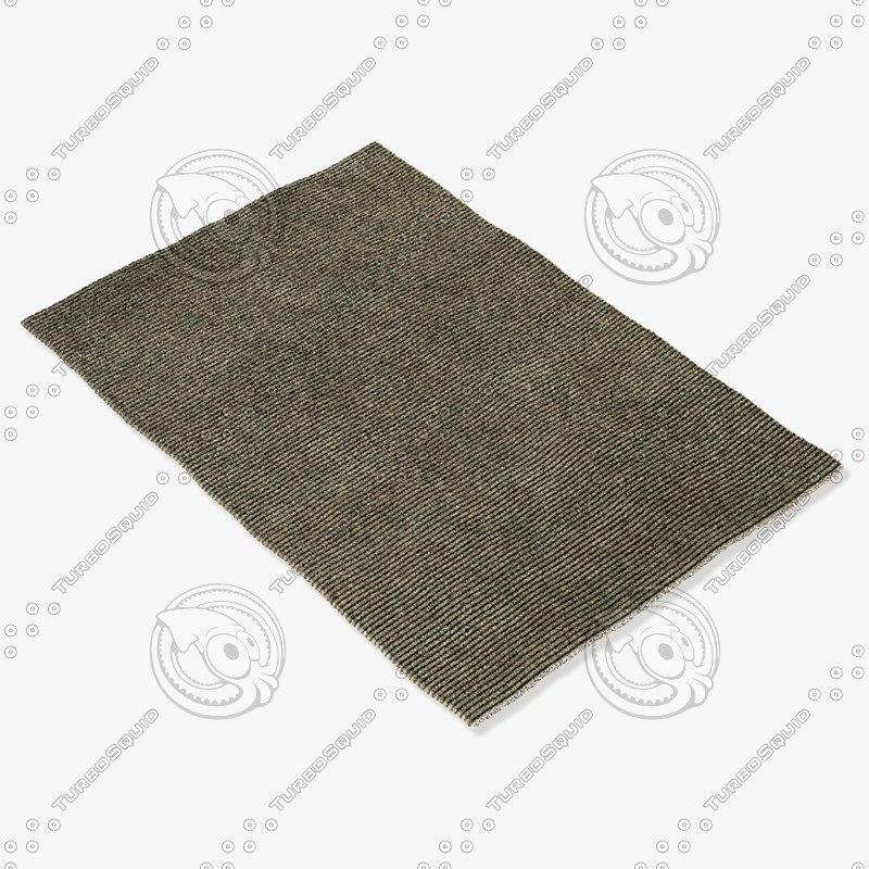 3d model sartory rugs nc-130