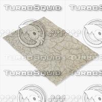 3d model of sartory rugs nc-136