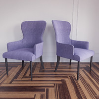 3d model of 640-a armchair wesley hall