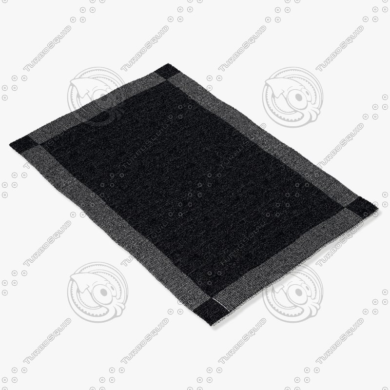 3d model of sartory rugs nc-178