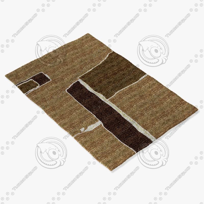 3d model sartory rugs nc-228