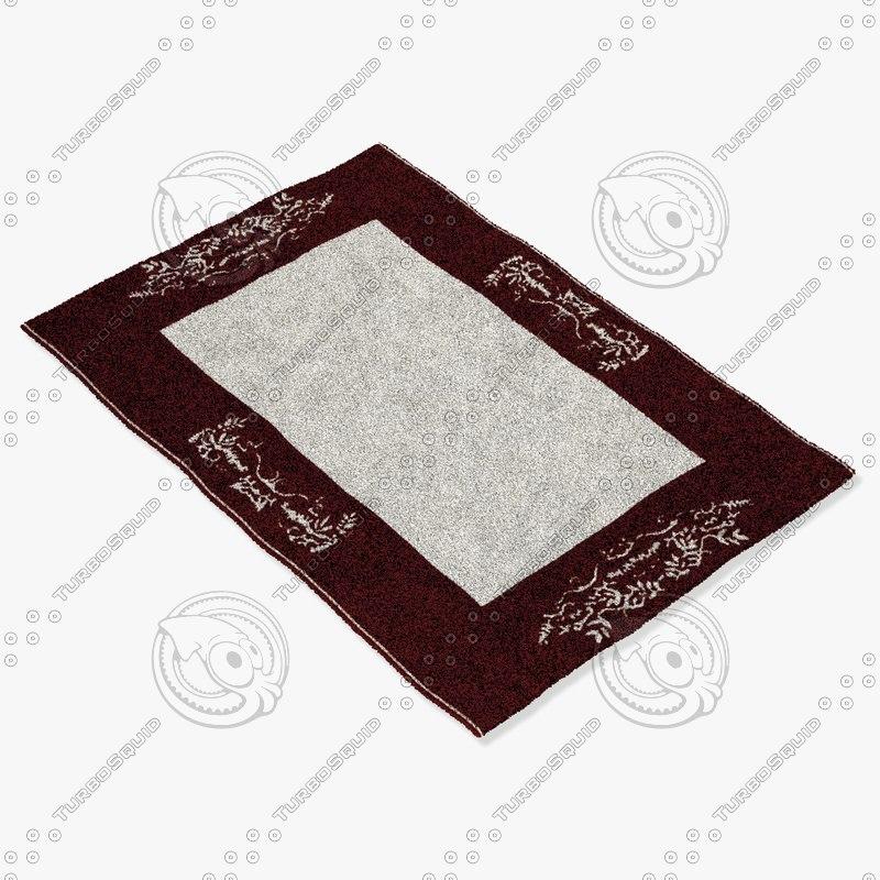 3d model of sartory rugs nc-250