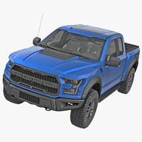 pick-up truck 3d models