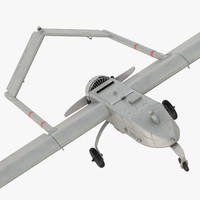 3d model rq-7 shadow uav