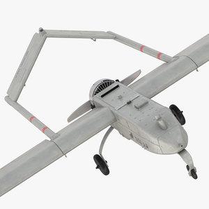 3d model rq-7 shadow uav