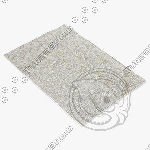3d model sartory rugs nc-284