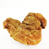 fried wing 3d model