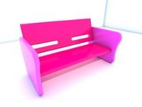 maya bench seat