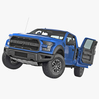 Ford F 150 Raptor 2017 Rigged