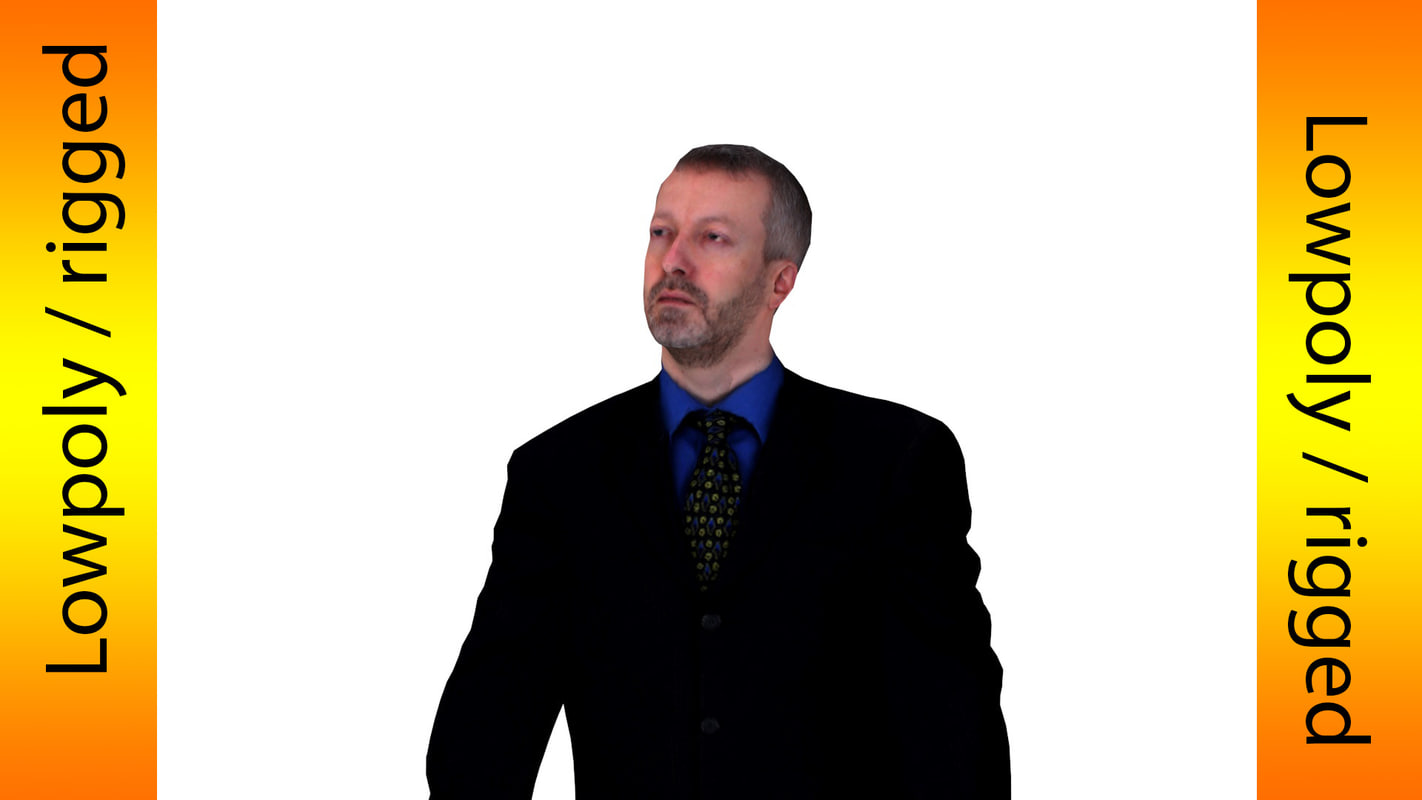 character games business 3d model
